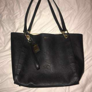Ralph Lauren Woman's Purse black big