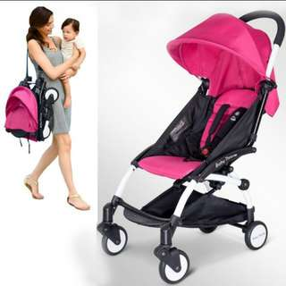 Compact light cabin sized baby stroller