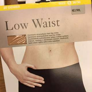 (New) Low waist tights 20 den