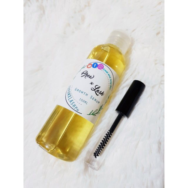 100ml Castor Oil with Mascara tube