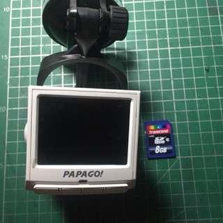 PAPAGO行車記錄儀送8G內存卡