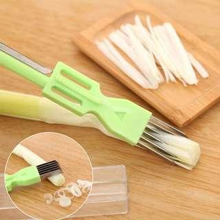 SLICER CUTTER ONION VEGETABLES KNIFE   PEMOTONG BAWANG DAUN PRAKTIS