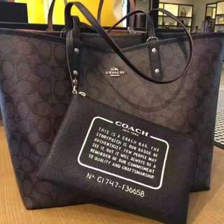 Coach Reversible Tote Bag(X'Mas special offer)