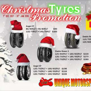 Pirelli tyres set from $90 onwards