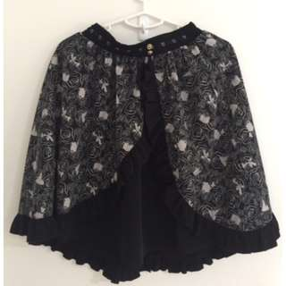 Axes Femmes Vintage Disney Short Flare Skirt from Japan