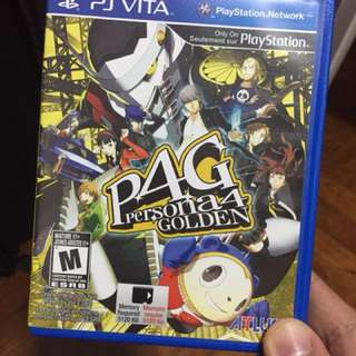 PS Vita Persona 4 Golden