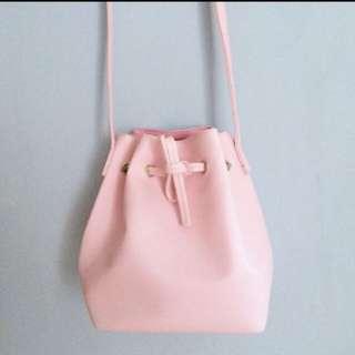 Baby Pink Bucket Bag