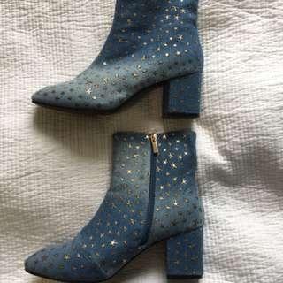 ASOS Denim Star Boots