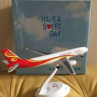 飛機模型-香港航空A330 1:400 送啤牌一份