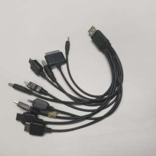 1開10  usb charger