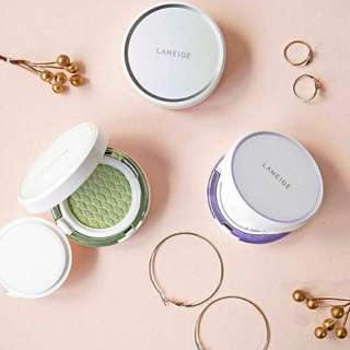 🎄✨INSTOCK! Laneige Skin Veil Base Cushion 1+1