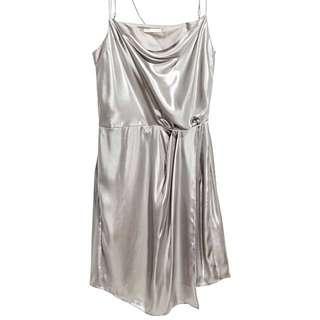 H&M Shimmering metalic dress