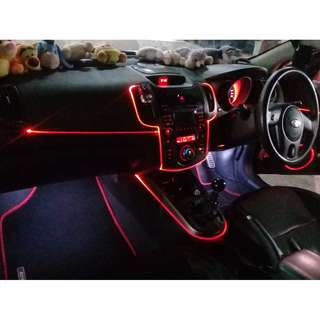 Car Atmospheric Lighting - Fiber Optics - Car Accessories