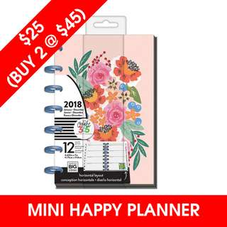 [IN STOCK]  Mini Happy Planner®, Funky Floral
