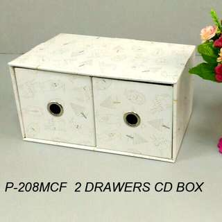 X'mad 2 DRawers CD box