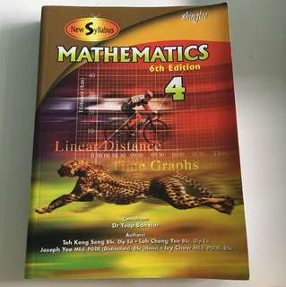 Shinglee Mathematics Secondary 4 Textbook