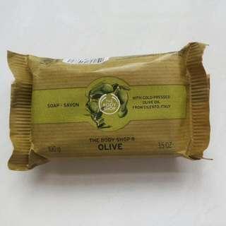 THE BODY SHOP OLIVE sabun mandi
