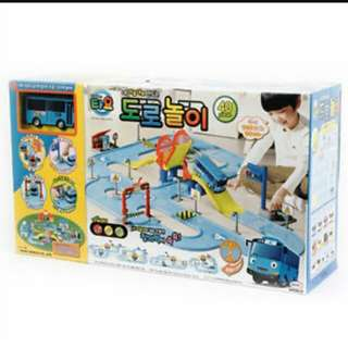 Tayo bus road play set with Tayo The Little Bus