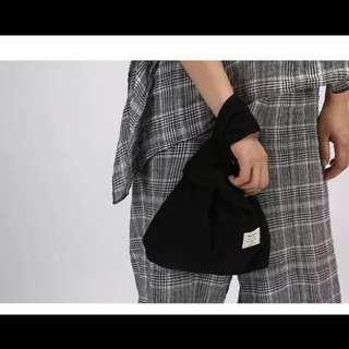 燈芯絨小手提包