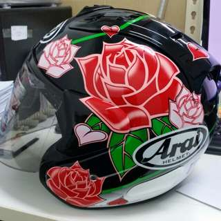 Arai Miglia rose (copy ori direct from factory)*Only left with limited sets for pre-order!!* (pictures are real from me)