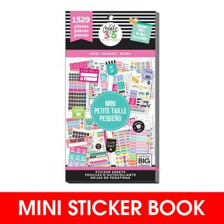 [INSTOCK]  Happy Planner® Mini Sticker Sheets, Mom