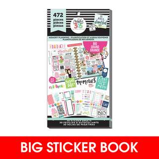 [INSTOCK]  Happy Planner Stickers - Memory Planning - BIG 472