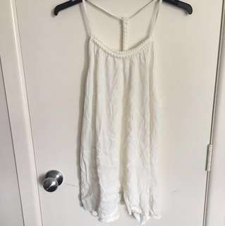 Jeans west white summer singlet