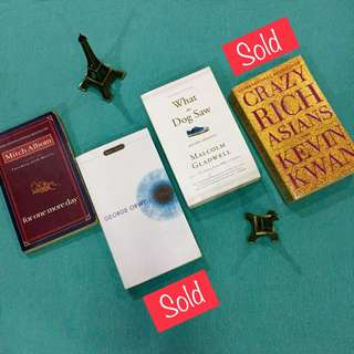 GET 2 Preloved BOOKS for P299! Grab yours now.