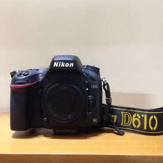 Nikon D610 WTT w/ Sony a7ii