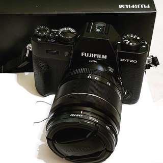 Fujifilm XT-20 18-55mm lens