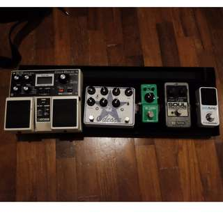 WTS all my pedals