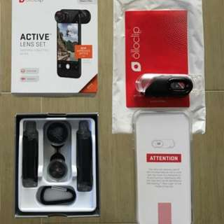Olloclip Active iphone 7+/8+, with Case