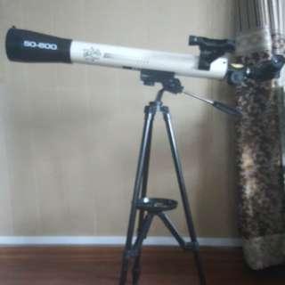 Eduscience 50-600 Refractory telescope