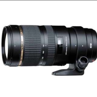 Tamron SP 70-200mm f/2.8 Di VC USD Zoom Lens for Canon