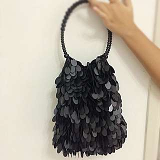 Dinner bag in black