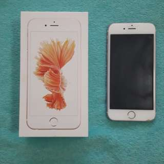 Iphone 6s 64gb Rose Gold (Globe locked)