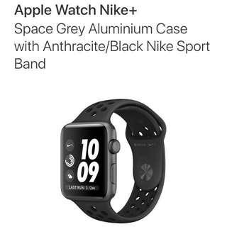 Buying Apple Watch 3 Nike