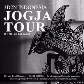 3D2N Indonesia Jogja Holiday Tour Travel from Singapore  (Enticing Package)