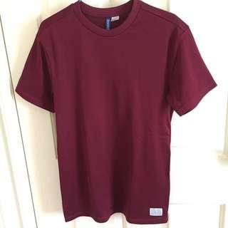 H&M Maroon t-shirt