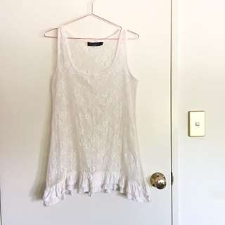 Summery lace tank