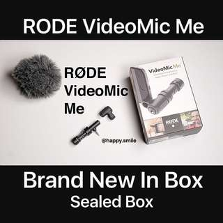 BNIB Rode VideoMic Me