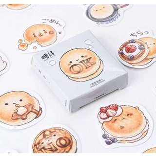 Cute toast sticker