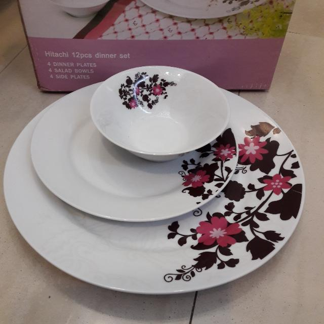 12 Pieces Dinner Set (New)