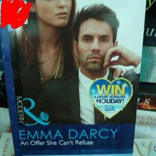 Emma Darcy: An Offer She Cant Refuse