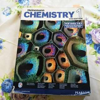 Heinemann chemistry 5th edition vce unit 1&2