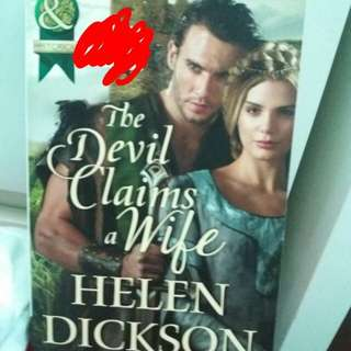 Helen Dickson: The Devil Claims a Wife