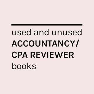 Accountancy/CPA Reviewer books