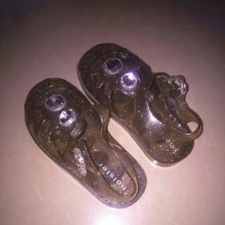 Holster jelly shoes for baby