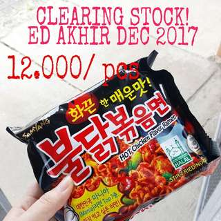 PROMO SAMYANG HOT CHICKEN LOGO HALAL