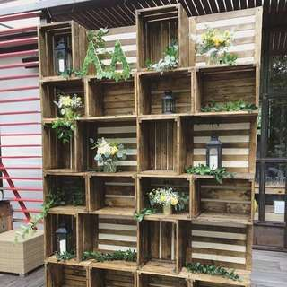 Rental: Wooden Crates